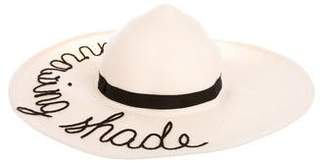 Eugenia Kim Throwing Shade Straw Hat