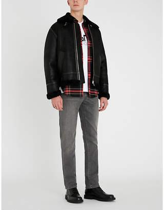 The Kooples Oversized shearling jacket
