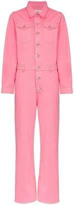 Ganni Denim Boiler Suit