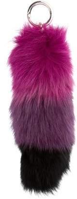 Jocelyn Fox Fur Keychain