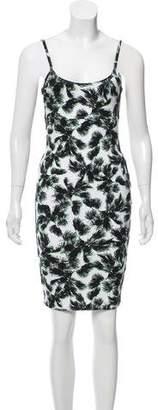 Torn By Ronny Kobo Sleeveless Printed Mini Dress