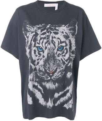 See by Chloe tiger print T-shirt