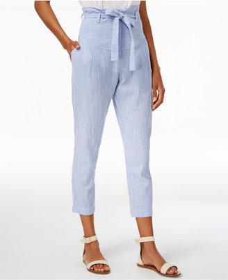 J.o.a. Striped High-Waist Pants $80 thestylecure.com