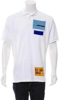 J.W.Anderson U.F.O. Patch Polo Shirt w/ Tags