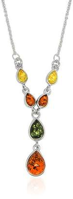 Goldmajor Elegant Sterling Silver Y-Drop Necklace of Length 48cm