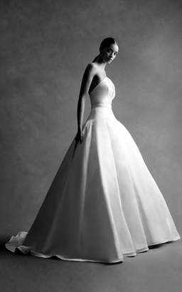 Brandon Maxwell Bridal M'O Exclusive: Strapless Bustier Ball Gown