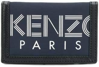Kenzo trifolded velcro wallet