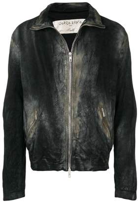 Giorgio Brato antique effect jacket