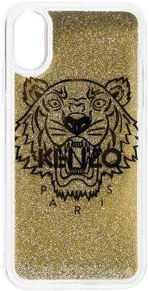 Gold Tiger iPhone X CSS case