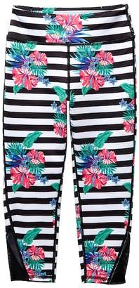 Zella Z by High Waist Print Crop Leggings (Little Girls & Big Girls)