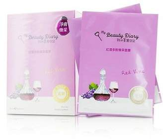 NEW My Beauty Diary Mask - Red Vine Revitalizing (Radiance & Revitalizing) 8pcs
