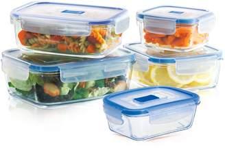 Luminarc Pure Box Active 10-pc. Glass Food Storage Set
