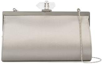 Marchesa embellished clasp clutch bag