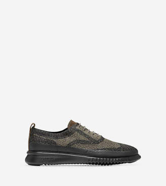 Cole Haan Men's 2.ZERØGRAND Water Resistant Oxford with StitchliteTM