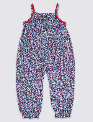 Marks and Spencer Ditsy Print Jumpsuit (3 Months - 7 Years)