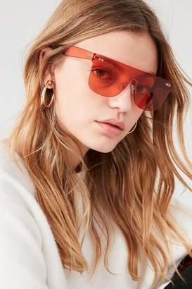 Urban Outfitters Zoe Rimless Shield Sunglasses