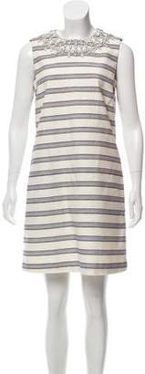 Tory Burch Embellished Sleeveless Dress w/ Tags