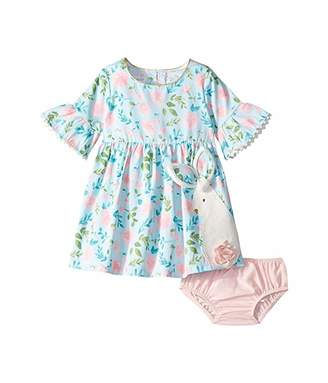 Mud Pie Bunny Dress (Infant/Toddler)
