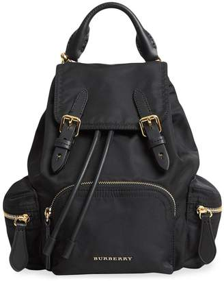 Burberry The Crossbody Rucksack in nylon and leather