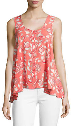 Style&Co. STYLE & CO. Sleeveless Floral Tank