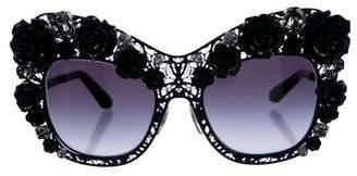 Dolce & Gabbana 2017 Floral Jewel Sunglasses