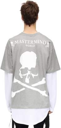 Mastermind World Liar Boxie L/s Cotton Jersey T-shirt