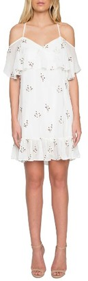 Women's Willow & Clay Embroidered Off The Shoulder Dress $99 thestylecure.com