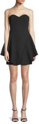 Halston Sweetheart Mini Dress