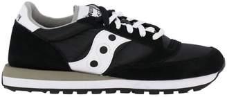 Saucony Sneakers Men's Jazz Original Sneakers In Suede And Nylon With Eva Innersole