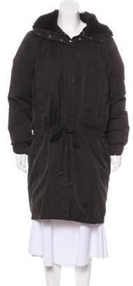 Acne Studios Hooded Knee-Length Coat