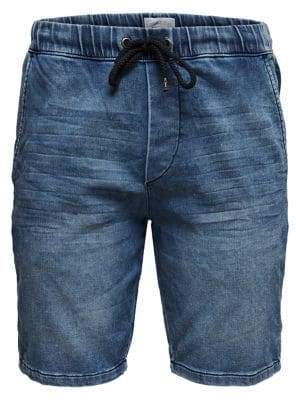 ONLY & SONS Drawstring Denim Sweat Shorts