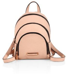 KENDALL + KYLIE Sloane Mini Leather Backpack $250 thestylecure.com