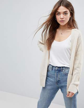 Asos DESIGN Ultimate Chunky Knit Cardigan