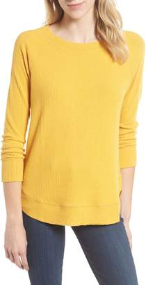 Caslon Ribbed Knit Top