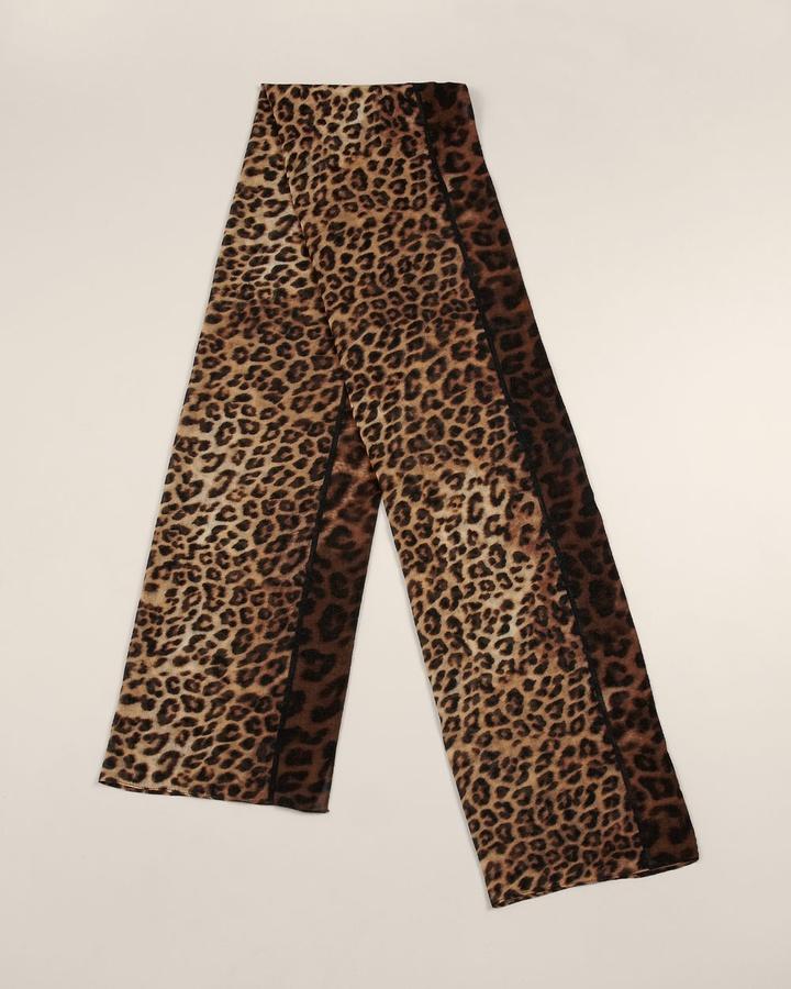 Chico's Sassy Cheetah Scarf