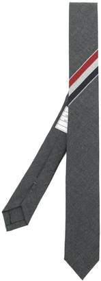 Thom Browne Engineered Stripe Necktie In Wool