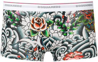 Dsquared2 Tattoo boxers $125 thestylecure.com