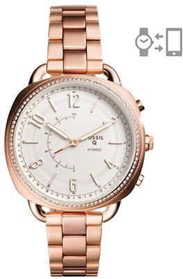 Fossil 1208 Stainless Steel Bracelet Hybrid Smartwatch
