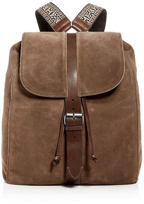 John Varvatos Leroy Guitar Strap Suede Backpack