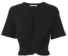 T by Alexander Wang Twist Detail Tee $150 thestylecure.com