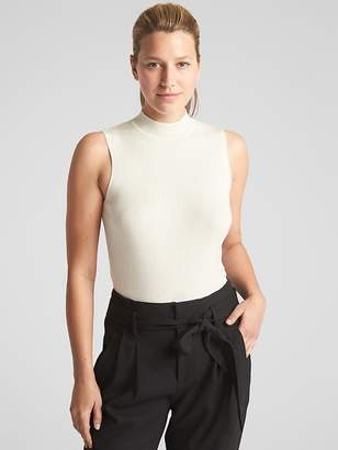 Gap Sleeveless Mockneck Sweater