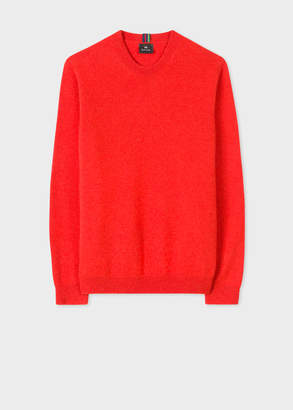 Paul Smith Men's Red Lambswool Sweater