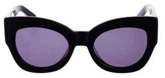 Karen Walker Northern Lights Tinted Sunglasses