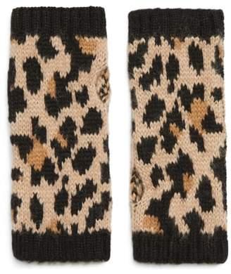 Kate Spade Leopard Arm Warmers