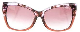 Tom Ford Carli Cat-Eye Sunglasses