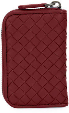 Bottega Veneta Bottega Veneta Intrecciato Mini Zip-Around Wallet/Coin Purse