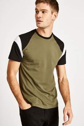Jack Wills Rayner Colour Block Raglan T-Shirt
