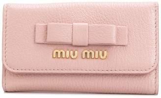 Miu Miu (ミュウミュウ) - Miu Miu マドラス フィオッコ キーケース