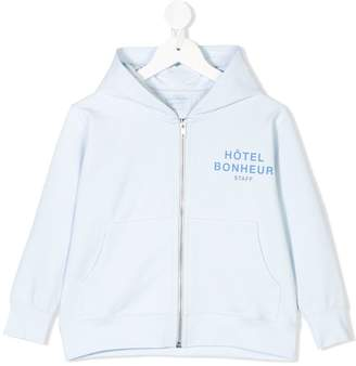 Tiny Cottons printed hoodie