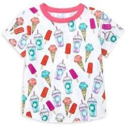 Chaser Little Girl's & Girl's Snack Time Tee